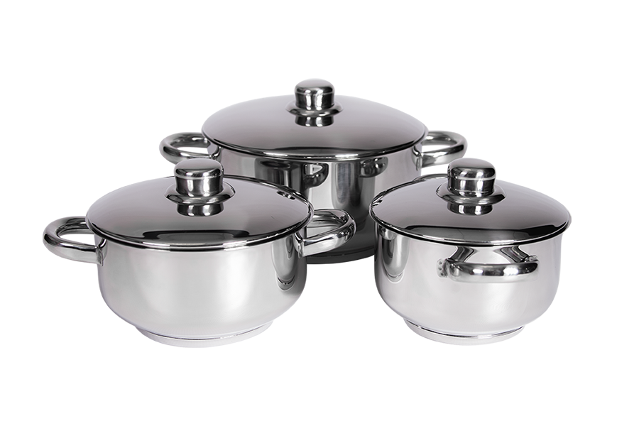 XCALIBUR Cookware 6 Piece Compact Line Chef