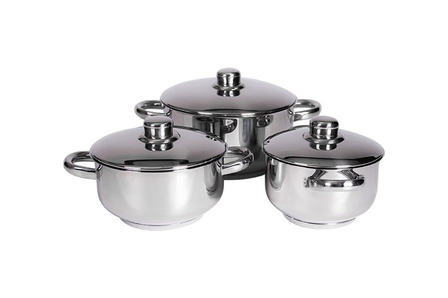 XCALIBUR Cookware Line Chef 6 Piece Compact